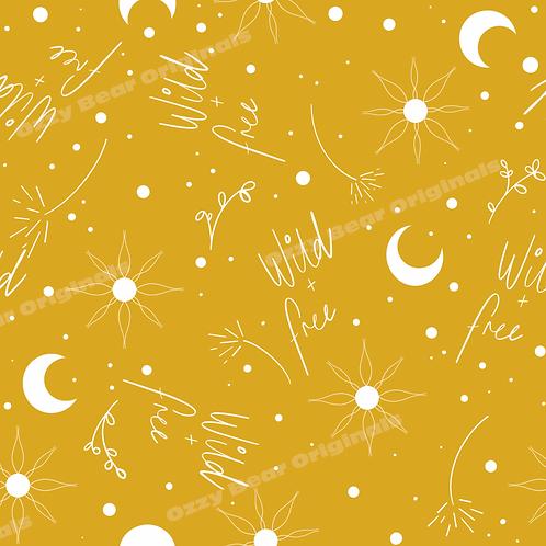 Wild and Free Yellow