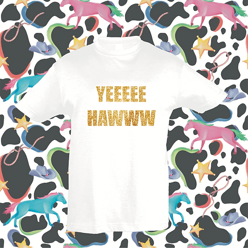 Yee Haww baby/toddlers T's