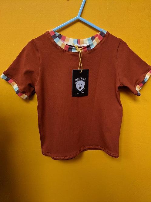 Rust retro t shirt