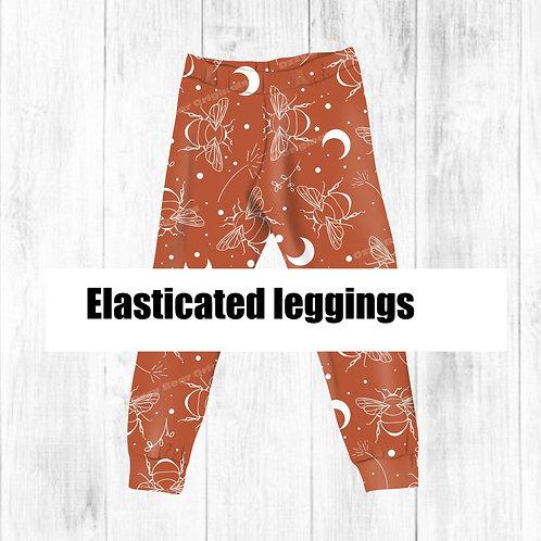 Elasticated Leggings Mockup