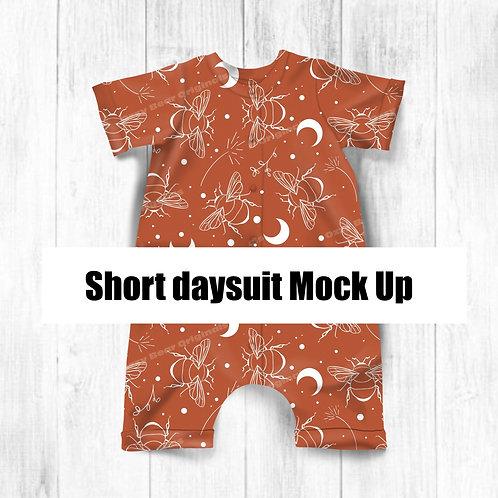 Short Daysuit Mockup