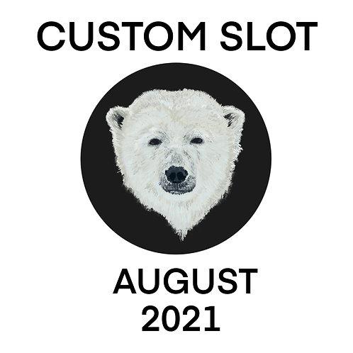 Custom Slots DEPOSIT August 2021