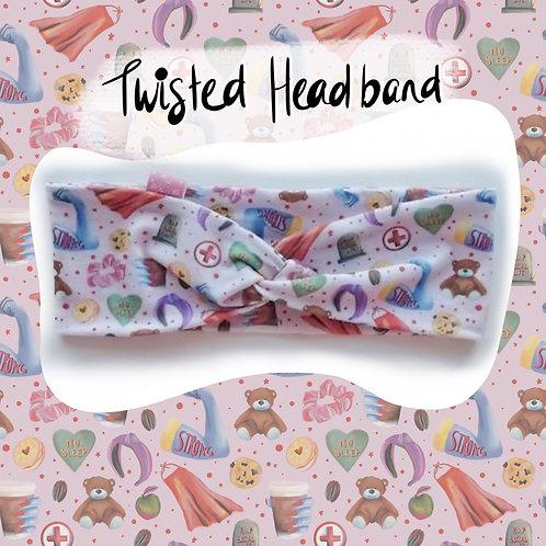 Woman's Twisted Headband