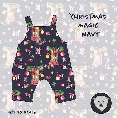 Christmas Magic Navy