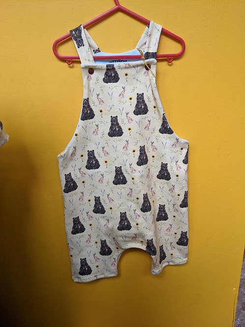 Bear and the Hare Shorty Dungarees