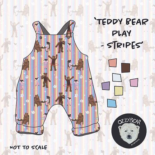 Teddy Bear Play Stripes