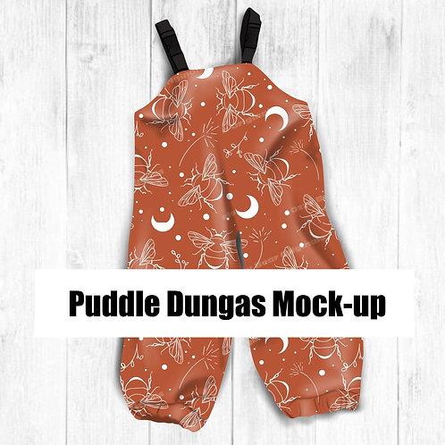 Puddle Dungas Mockup