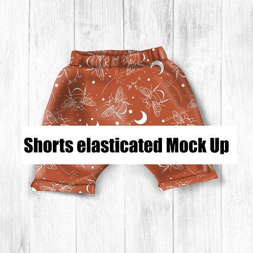 Elasticated Shorts Mockup