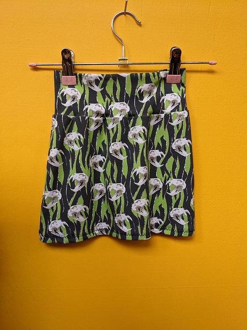 Tiger Skulls Skirt