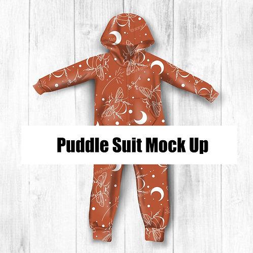 Puddle Suit Mockup