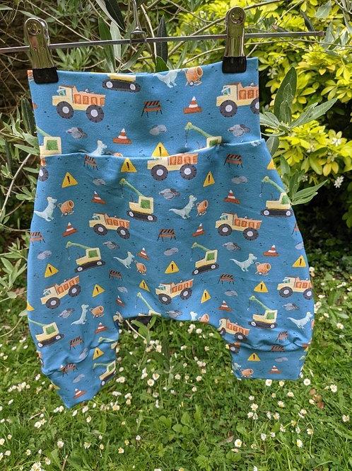 Dino Construction Shorts