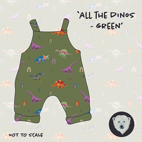 All The Dinos Green