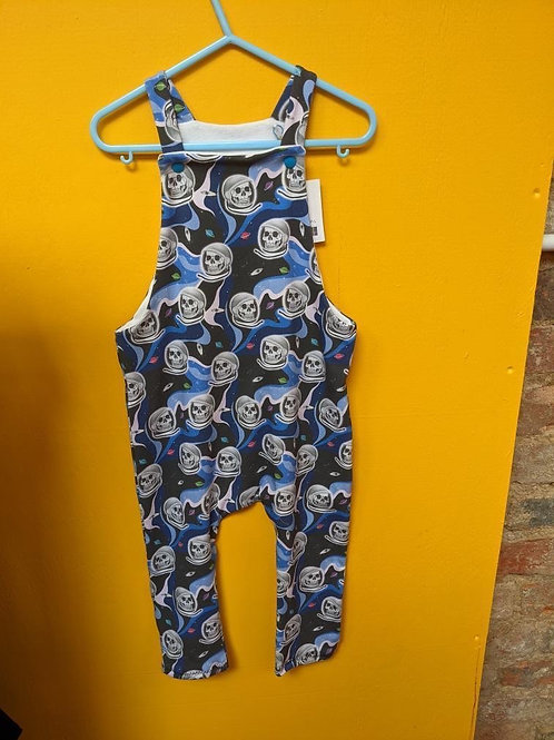 Skelespace  Dungarees