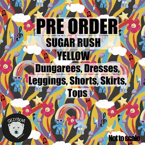 Preorder Sugar Rush Yellow