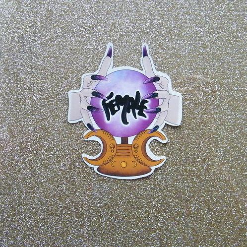Female Sticker