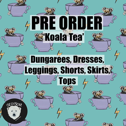 Pre Order Koala Tea