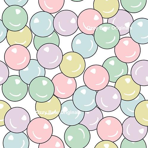 Bubble Gum White