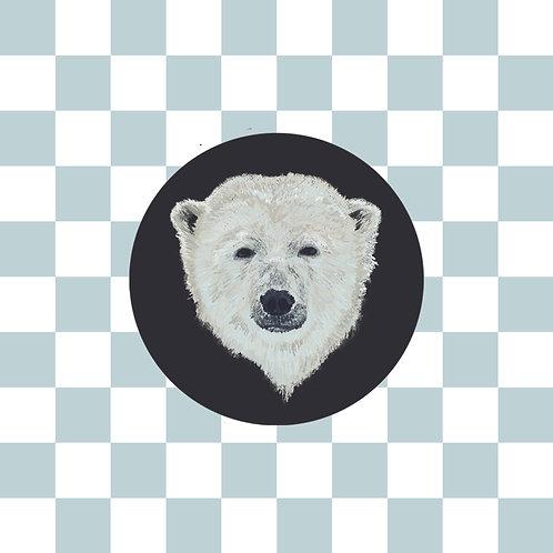 Powder Blue Checkers