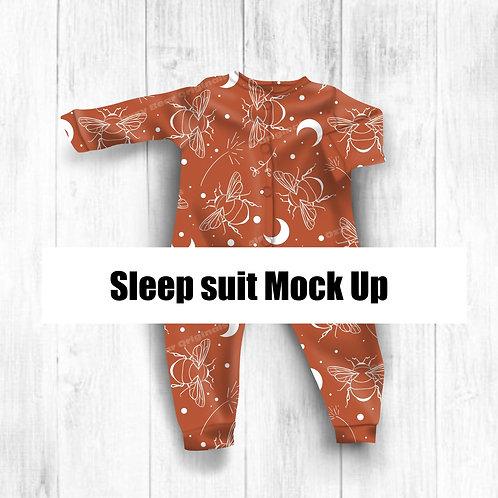 Sleepsuit Mockup