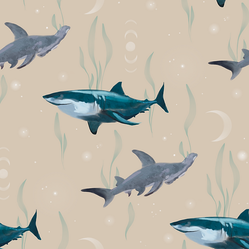 Sharks - Beige