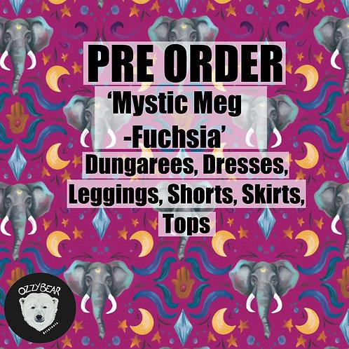 Pre Order Mystic Meg - Fuchsia