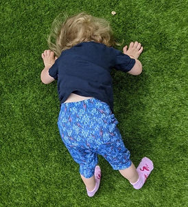 Childrens organic cotton shorts featuring a funky lightning print