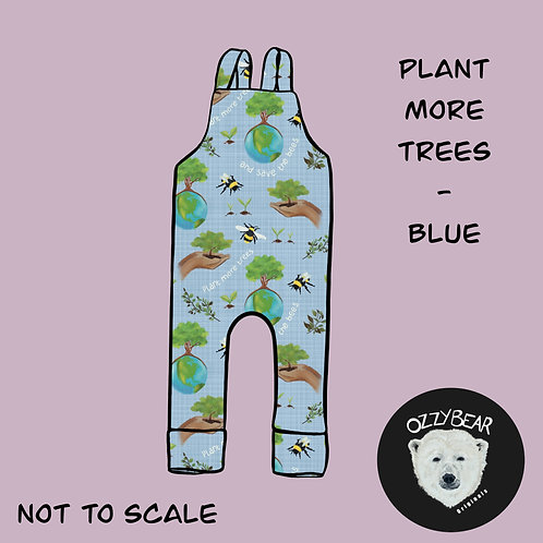 Plant More Trees - Blue