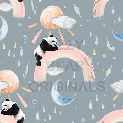 Panda Weather Grey