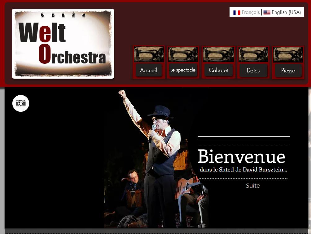 welt orchestra Web Design by Eden Roads