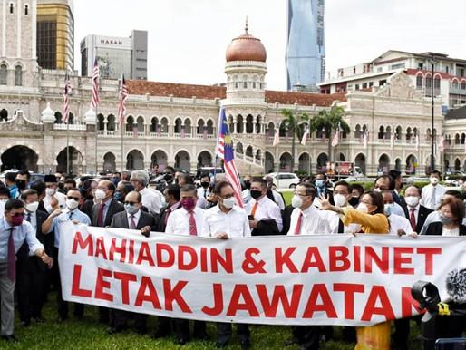Parlimen ditutup, Ahli Parlimen berucap di Dataran Merdeka