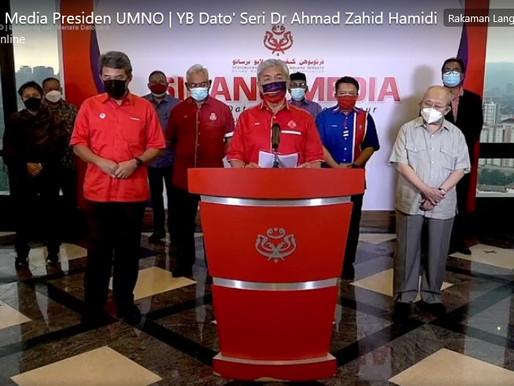 Sekurang-kurangnya 11 Ahli Parlimen Umno tarik sokongan, kerajaan PN tumbang