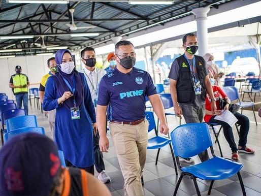 SelVAX berjaya tambah 200,000 dos suntikan vaksin warga Selangor