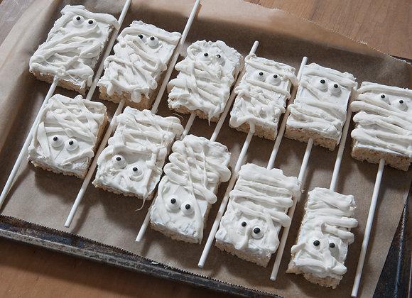 Rice Crispy Mummies