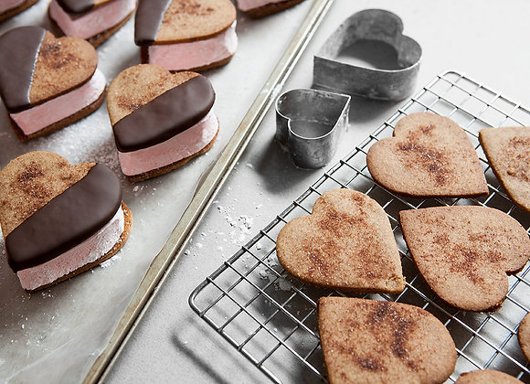 Heart Shaped S'Mores