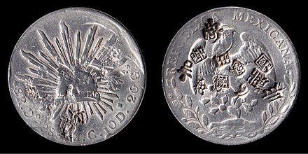 Mexican Silver Dollar