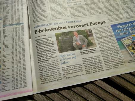 De Telegraaf: E-brievenbus verovert Europa
