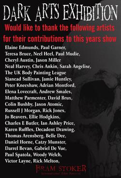 List of artist 2014