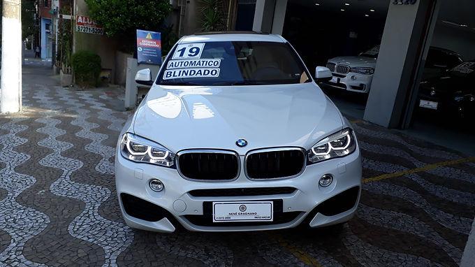 BMW X6 2019 3.0 XDRIVE 35I M SPORT AUTOMÁTICA BLINDADA NÍVEL III