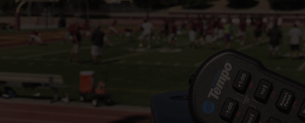 CoachComm eVenue Tempo Practice Management System for Football teams.