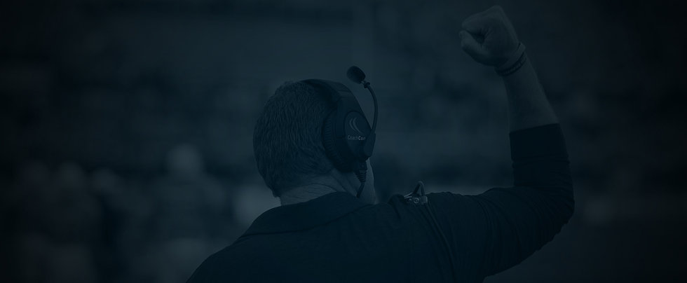 CoachComm Football Coach Headset Options