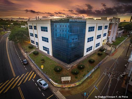 Instituto de Química da Unicamp. Prédido da administração e bbiblioteca. Foto por: Raphael Enoque F. de Paiva em 2017 (aluno de doutorado)