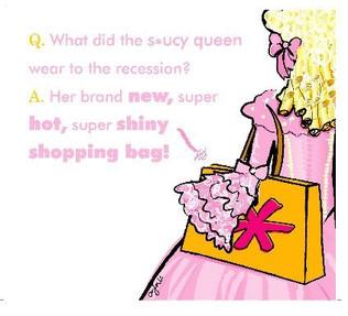 Saucy Queen Illustration