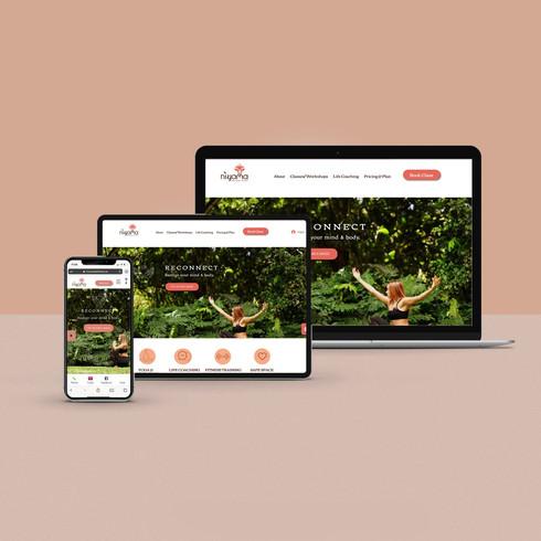 BRANDING + WEBSITE