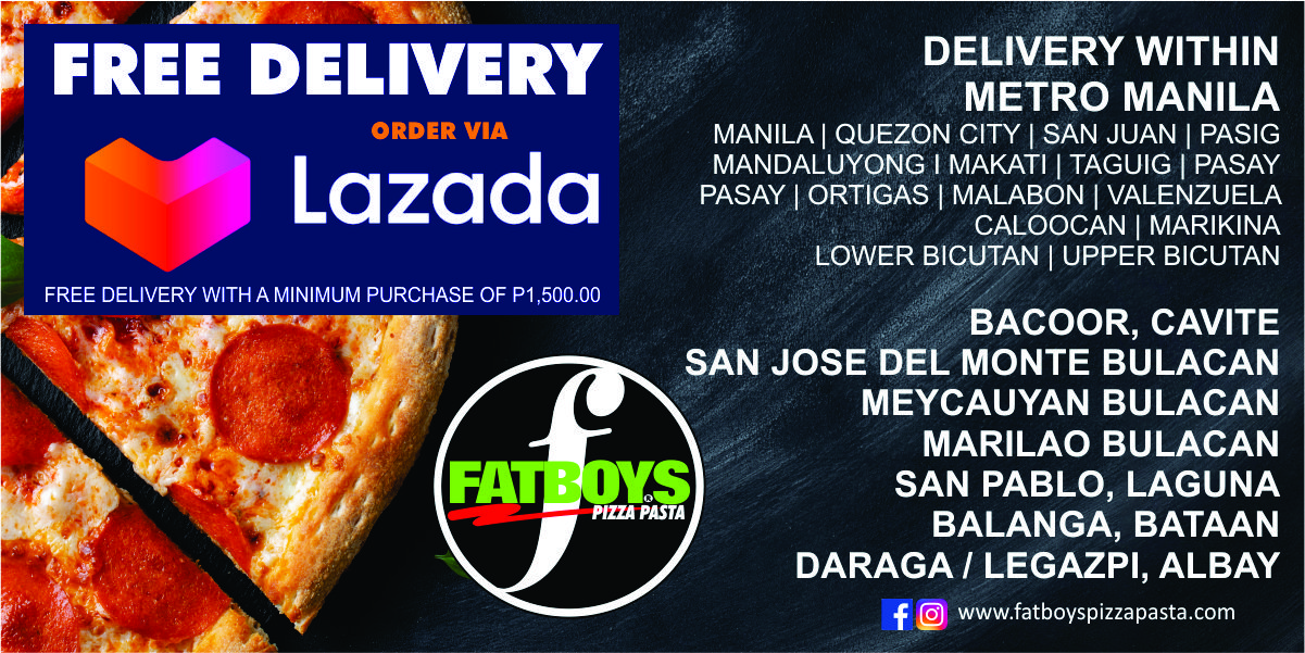 FREE DELIVERY LAZADA BANNER
