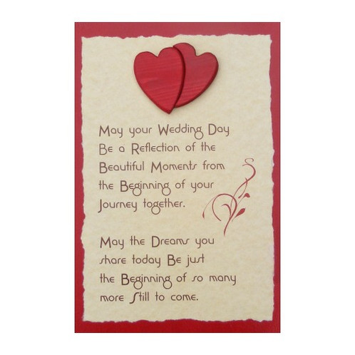 Wedding day blessing nok on wood wooden toys gifts wedding day blessing junglespirit Gallery
