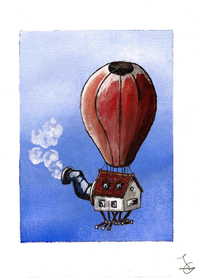 Das Leben ist ein Luftballon