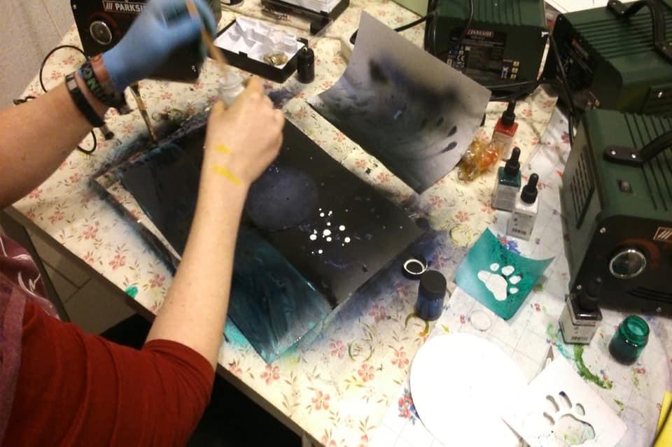 "Workshop ""Airbrush-Kunst"""