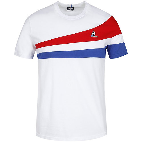 Tee-Shirt Le Coq Sportif Paris Blanc