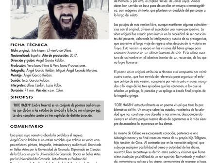 'Tote Hasen. El Viento de Ulises'. Estreno en la Filmoteca de Andalucía.