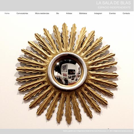 Website La Sala de Blas